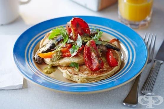 Палачинки с печени зеленчуци - изображение