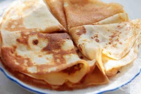 Палачинки със сода и майонеза - изображение