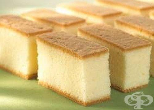 Пандишпанов кекс с масло - изображение