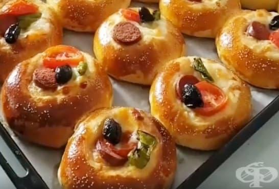 Пица хлебчета - изображение