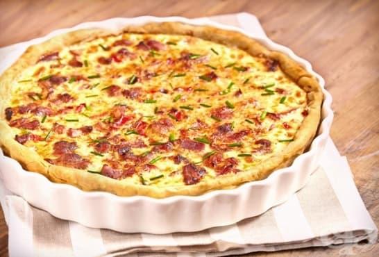 Киш пица със сирена - изображение