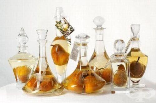 Как цели плодове се побират в бутилка? - изображение