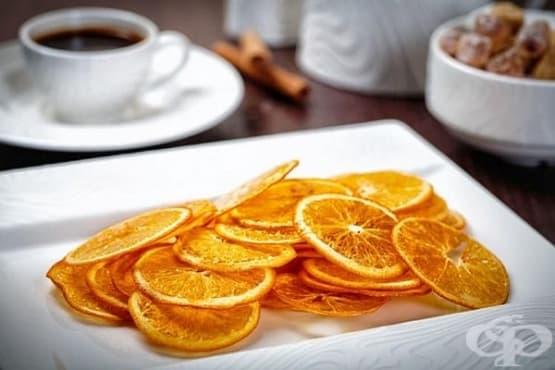 Портокалов чипс - изображение