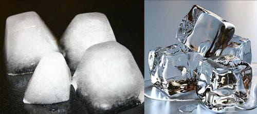 Как да си направим прозрачен лед в домашни условия - изображение