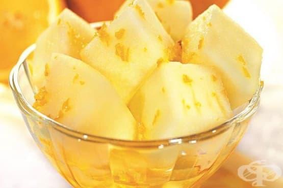 Пъпеш с лимонов сироп - изображение