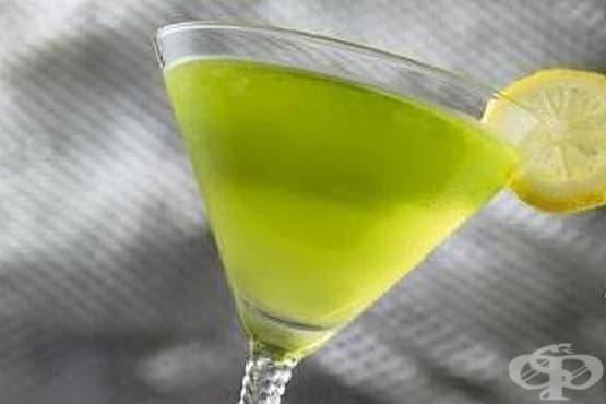 Пъпешово мартини с лимонов сок - изображение