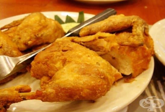 Мариновано пържено пиле - изображение
