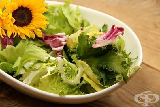Рецепти за салати от маруля - изображение