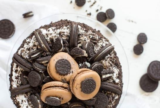 Сладоледена торта Орео - изображение