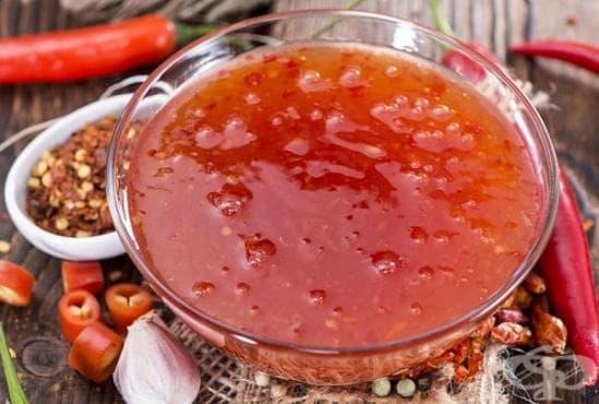 Сладък сос чили - изображение