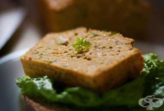 Солен кекс с нахут и семена - изображение