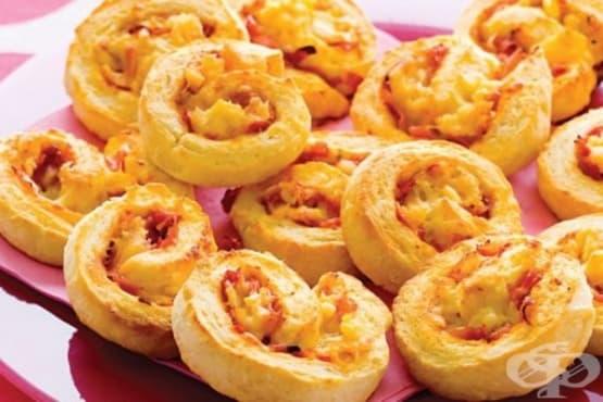 Соленки с ананас и шунка - изображение