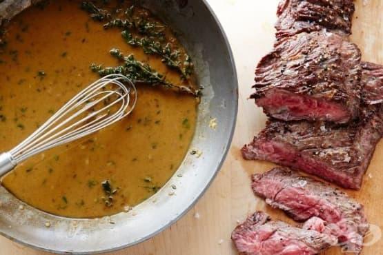 Как да приготвите най-добрият сос на тиган - изображение