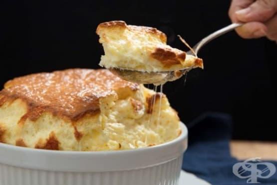 Суфле със сирене - изображение