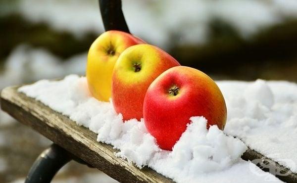Как да съхраним свежестта на ябълките през зимата - изображение