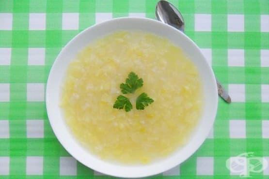 Френска лучена супа с картофи - изображение