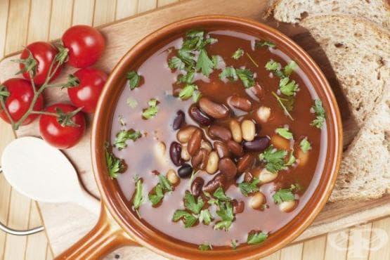 Супи за отслабване: Супа с три вида боб - изображение