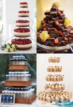 Интересни алтернативи на сватбени торти - изображение
