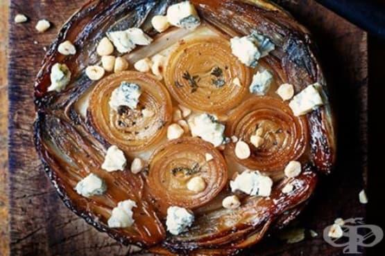Лучен тарт с цикория - изображение