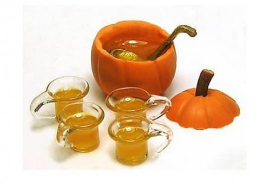 Тиквен чай с прясно мляко и канела - изображение