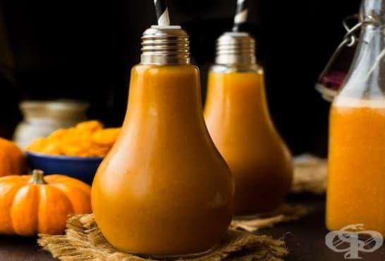 Тиквен сироп с мед, ябълки и моркови - изображение