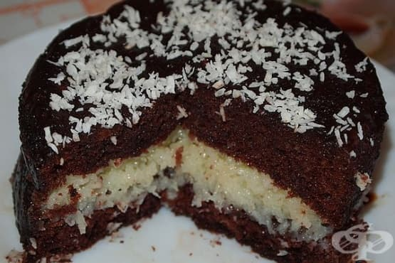 Домашна торта Баунти - изображение