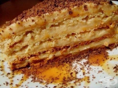 Торта с крем брюле - изображение