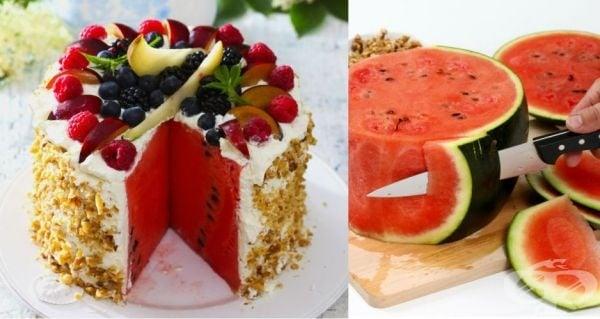 Рецепти за торта от диня - изображение