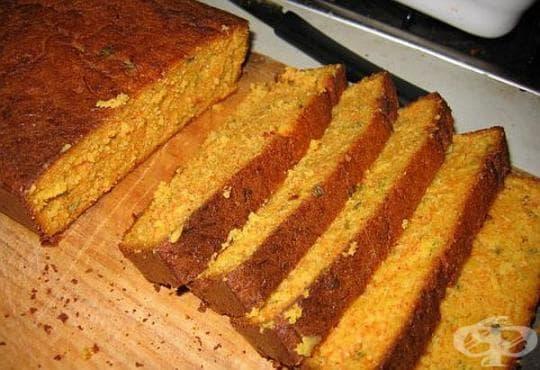 Царевичен хляб с тиква - изображение
