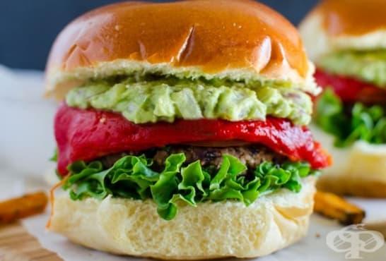 Веган бургер - изображение