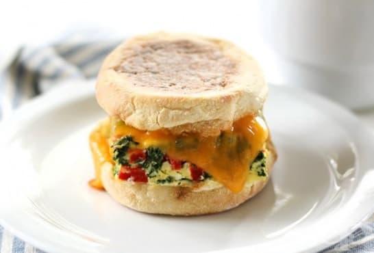 Домашни вегетариански сандвичи - изображение