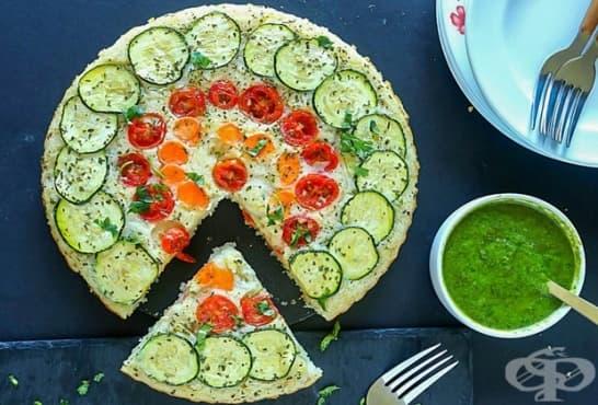 Вегетариански киш - изображение