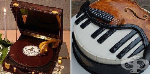 Красива подборка от вкусни музикални инструменти - изображение
