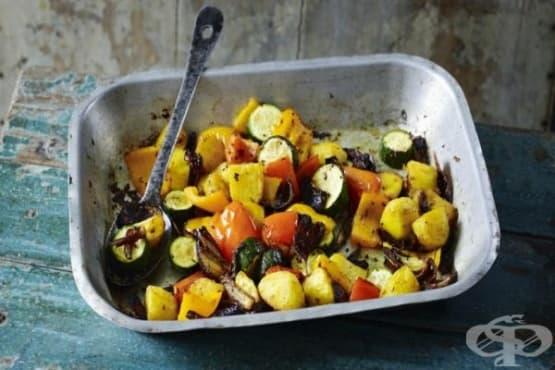 Печени зеленчуци с гарам масала - изображение