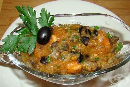 Зеленчуков сос с маслини - изображение