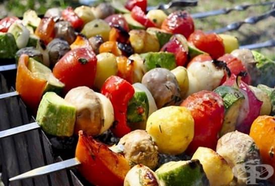 Зеленчукови шишчета - изображение