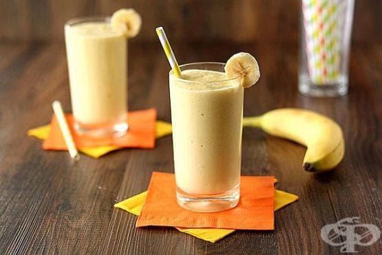 Преборете умората с напитка от манго, банан и кисело мляко - изображение