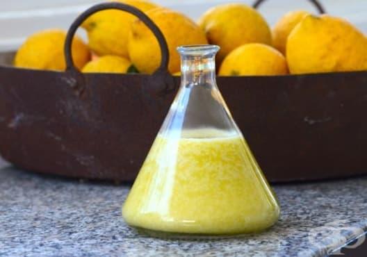 Консумирайте смес от лимон, зехтин и бяло вино срещу камъни в жлъчката - изображение