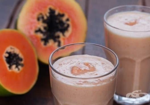 Пречистете стомашно-чревния тракт с напитка от папая и овесени ядки - изображение