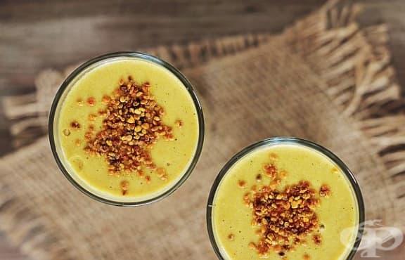 Преборете умората с напитка от манго и конопено мляко  - изображение