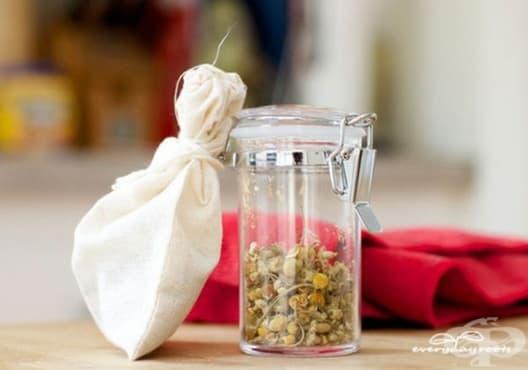 Облекчете екземата с вани от лайка - изображение