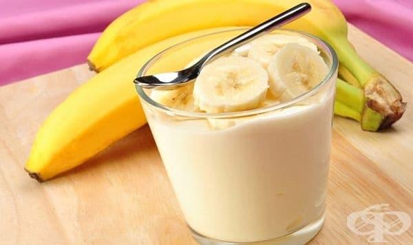 Консумирайте банани и кисело мляко срещу диария - изображение