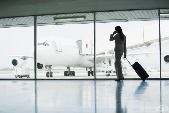 Избягвайте металните предмети в облеклото, когато летите със самолет - изображение