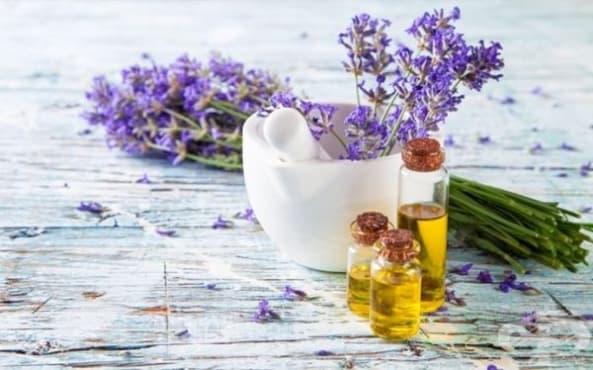 Заличете синините и отока с масло от лавандула - изображение