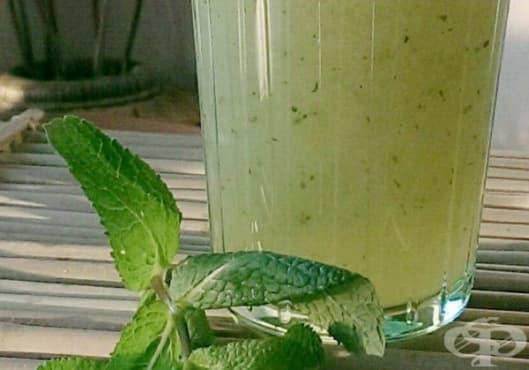 Преборете умората с напитка от алое, лимон, мента и агаве - изображение