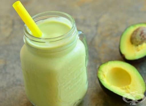 3 здравни ползи от напитка с авокадо  - изображение