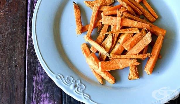 Пригответе си хрупкав и здравословен чипс от сладки картофи - изображение