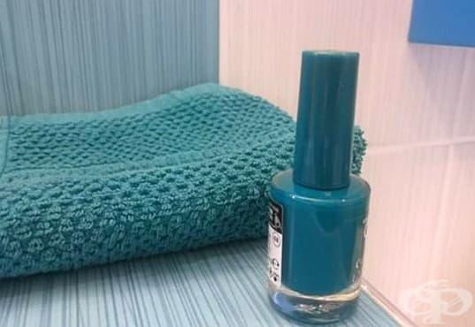 Не съхранявайте лакове за нокти в банята, за да не се развалят - изображение