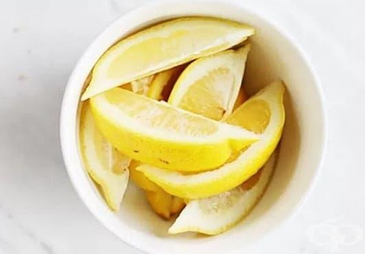 Успокойте охлузването, вследствие на бръснене с лимонов сок - изображение