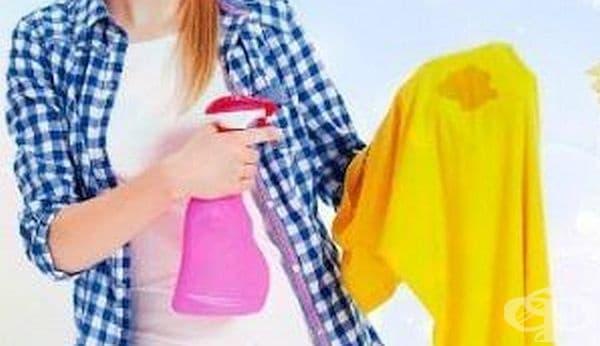 Премахнете мазните петна по дрехите с бебешка пудра - изображение